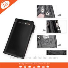 WPL2014012 Black Most popular designer Leather purse