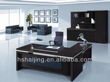 custom modern laminated particle board computer desk price