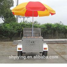 2014 YY-HS120D food cart of Swiss Beef Steak /food truck/food van