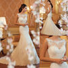 MZ-104 New Arrival High Quality Lace Free Shipping Wedding Dress Fishtail Wedding Dress 2015