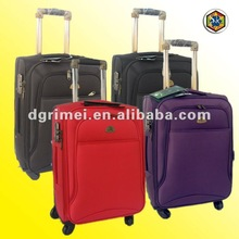 2012 New Design Factory Price 4-Wheels 1680D Trolley Case