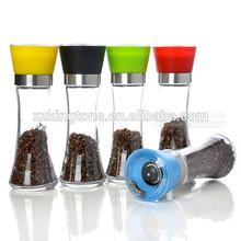 Picnic use Pepper Mills,ceramic Salt Mills, manual Spice Mills