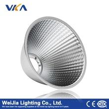 custom aluminum led reflector for led track spotlight