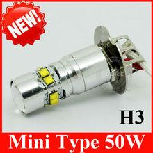 BEST PRICE SHORT LED H3 LED BULB 6V 55W