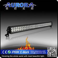Higest waterproof IP69K 30inch dual row light 4x4 trailer