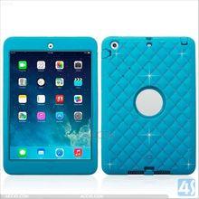 PC Silicone Diamond Shockproof Case for iPad Mini 2 P-APPIPDM2HYBC001