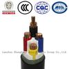3kv copper core 4ore pvc insulated dc power cable
