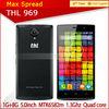 Original 4G LTE MTK6582M Quad Core Android 4.4 Smartphone thl mobile phone
