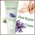 venda quente private label pé cuidado suave para pele seca e áspera de calcanhar rachado creme