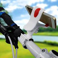 Black Universal Bike Mount Holder Bicycle Handlebar Mount Flexible Holder for iphone 5 5S 4 4S Galaxy Mobile Phones