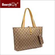 trend new design nylon pattern lady handbag