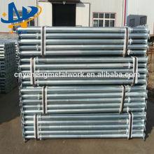 galvanized adjustable steel jack post shoring prop
