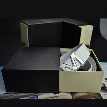 High Quality Customize Brand Fashion Cardboard Belt Box with Packing Bag