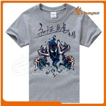 Custom short sleeve t-shirt print with wholesale league of legends t-shirt