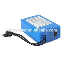 Wholesale 18650 rechargeable battery 12v 12ah li-ion batteryfor Audio, Router, Amplifier, LED light, LED strip, LED panel