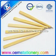 funny ball pen/cheap stick ball pen/wooden ball pen