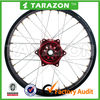 high quality stunning CNC frosted Aluminium alloy Spoke wheels for Dirt bike CRF R