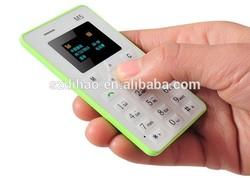 DIHAO Tech Aiek M5 Card Mobile Phone 4.5mm Ultra Thin Pocket Mini Phone Dual Band Low Radiation M5