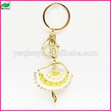 Beautiful dancing keychain for souvenir unique design