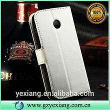 For Moto E Flip Cover, High Quality Leather Case For Moto E