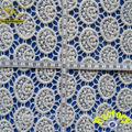 yjc16847 crochet de coton tissu de broderie de dentelle de mariage en dentelle robe longue