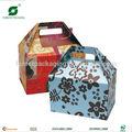 schöne Giebel karton geschenkbox mit griff fp805601