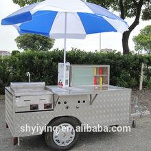 shanghai YiYing YY-HS200Afood cart of Swiss Beef Steak /food truck/food van