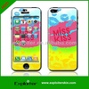 Hot selling design your own shock proof latest 3d mobile cell cover skins