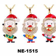 Fashion new design rhinestone novelty Rhinestone Christmas santa jewelry