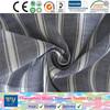 fashion shirt garment yarn dyed cotton stripe poplin dobby shirt fabric changzhou tianyuan