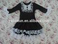 Vestido da menina flor lace irritar fantasia outfit roupa do bebê preço de atacado queda manga comprida boutique vestido