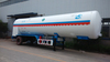 31000 L Liquid Nitrogen tanker semi trailer from China