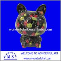 home decor ceramic paint piggy bank