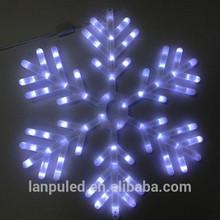 snowflake led christmas fireworks light Christmas colors changeable hight quality