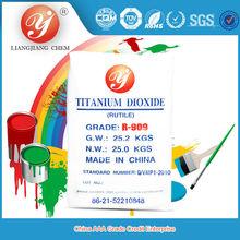 Hot Sale rutile titanium dioxide R909 anatase titanium dioxide b101