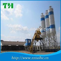 Portable HZS50 small cement production plant,concrete batching station