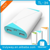 2014 New Design 7800mAh External compact Fast Charging High Capacity mobile power