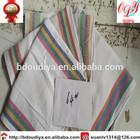 promotional 100% Cotton plain coloured tea towel,cheap bulk dish towel, kitchen towel