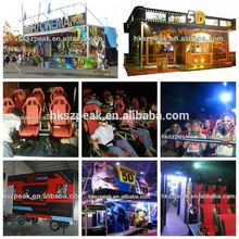 5d 6d 7d 8d 9d Cinema System Theatre Game Machine 4d Simulator Simulator For Cinema/amusement Park/tourist Places