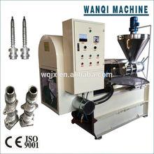 High-quality WANQI brand full automatic peanut screw oil press machine/soybean oil press/sunflower seed oil press