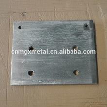 personalizzati di alta qualità taglio laser in acciaio inox montato base