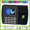 TFT Screen TCP/IP Linux OS Web Server fingerprint optical sensor biometric time attendance device