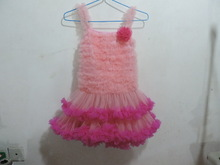 kids tutu dress pink sweet lovely girl flower one piece dress without dress sexy girls photo importing baby clothes from china