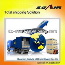 air shipping agent from Shenzhen/Guangzhou/Dongguan/Foshan to Europe
