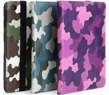 Camouflage Durable PU Case for Ipad Mini