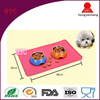 Wholesale Top Quality Customized Logo Printed Washable Pet Bowl Mat