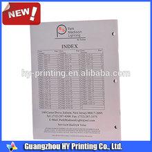 Guangzhou unique printing tri-fold brochures
