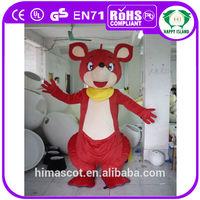 HI CE EN71 kangaroo mascot costumes meat