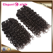 Raw unprocessed deep wave virgin Indian hair ,deep weave human hair