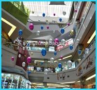 2014 Promotion Plastic Christmas decoration ball